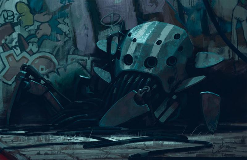 tajemnice robot