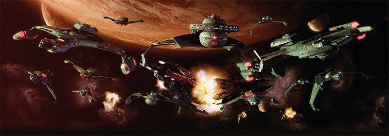 klingon fleet