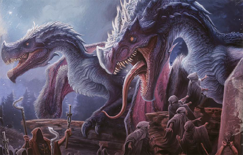 monsters and cultists
