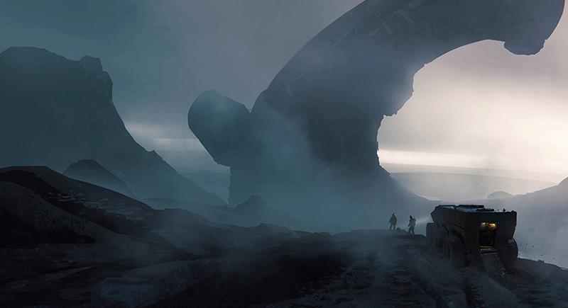 Obcy - ruiny