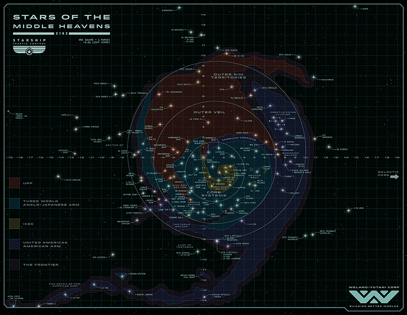 obcy - mapa