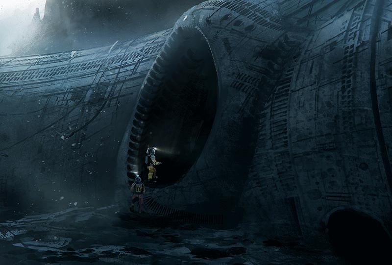 obcy - statek